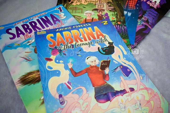 Vendredi Lecture #36 – Comics – Sabrina The Teenage Witch#1-5
