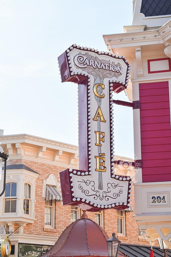 [Disney Food] Carnation Café à DisneylandResort