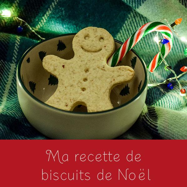 Ma recette de biscuits deNoël